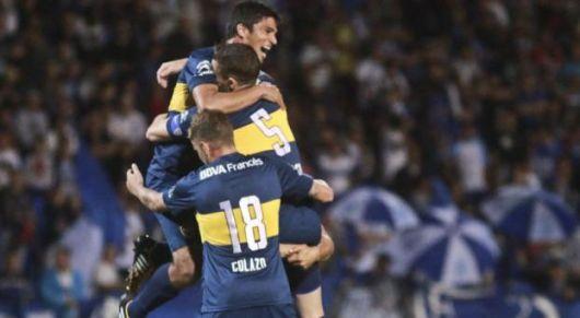Boca le ganó a Godoy Cruz 2-3