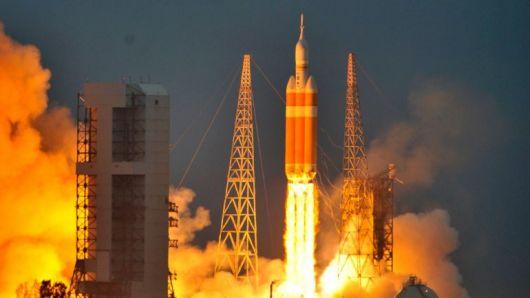 La NASA lanzó Orion, para la conquista de Marte