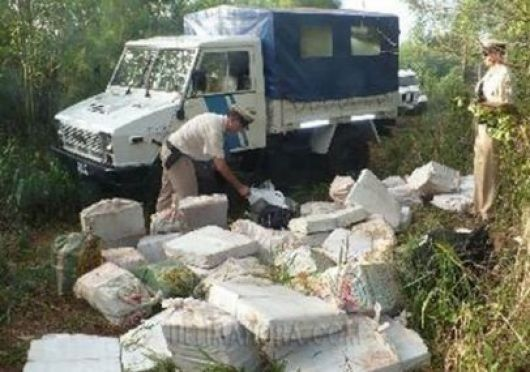 Incautan más de 5 toneladas de droga en Ituzaingó