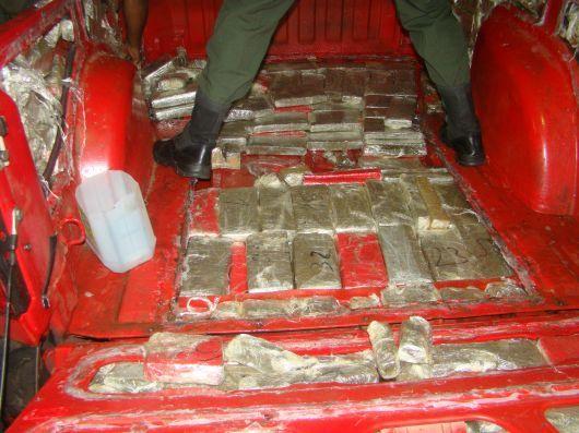 Secuestran más de 227 kilos de marihuana