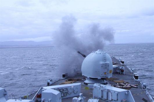 <p>Ejercicios militares en las Islas Malvinas</p>