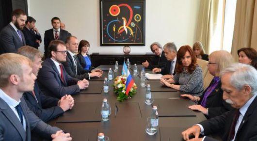 <p>Cristina confirm&oacute; que Rusia construir&aacute; una central nuclear en el pa&iacute;s</p>