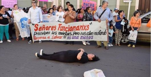 <p>Marcharon por el asesinato de Librada Haedo, el culpable est&aacute; sobreseido</p>