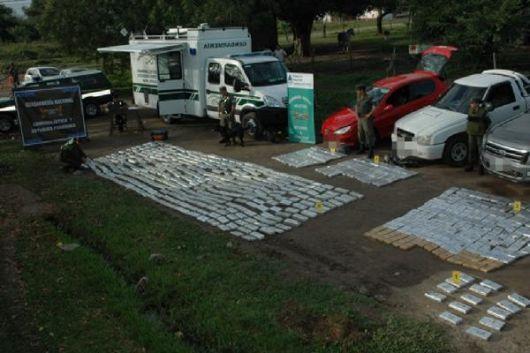 <p>Otro golpe al narcotr&aacute;fico en Corrientes: secuestran casi 612 Kg de marihuana</p>
