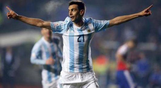 <p>Messi &amp; Pastore para la haza&ntilde;a en Chile</p>