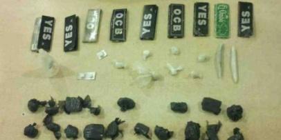 <p>Secuestraron droga de sindicados dealers</p>