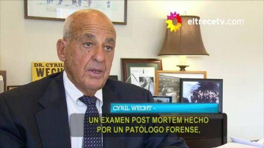 <p>Un perito forense de EE.UU. cree que a Nisman lo mataron</p>