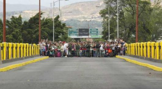 <p>Frontera Colombia/Venezuela: Camino a la crisis humanitaria</p>