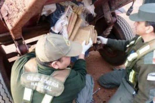 Gendarmería Nacional desbarató una banda de narcotraficantes