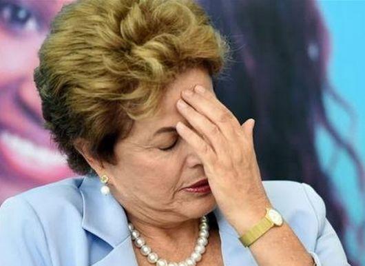 <p>Dilma Rousseff quedó a un paso del juicio político</p>