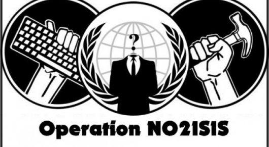 <p>Guerra total: ISIS contra los &quot;idiotas&quot; de Anonymous</p>