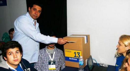 <p>Macri se anota otra victoria electoral con Angelici en Boca</p>