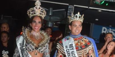 <p>Agostina Liotti y Juan Jos&eacute; Luque los soberanos del Carnaval 2016</p>