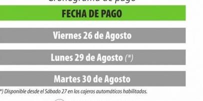 <p>El 26 arrancar&aacute; el pago a empleados p&uacute;blicos</p>