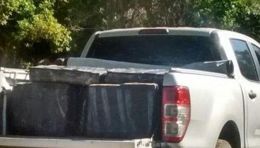 <p>Corrientes: Narcos abandonaron camioneta con mas de una tonelada de marihuana</p>