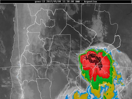 <p>Rige alerta meteorol&oacute;gica para Corrientes y hay preocupaci&oacute;n por zonas inundadas</p>