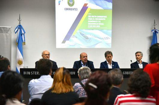 <p>Canteros se comprometi&oacute; a fortalecer a las organizaciones civiles</p>
