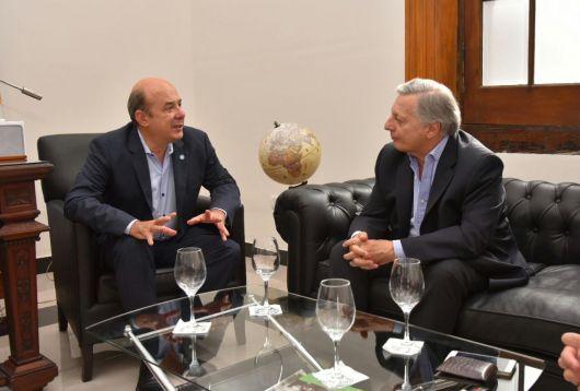 <p>Canteros: &ldquo;Corrientes continuar&aacute; en el camino del desarrollo energ&eacute;tico&rdquo;</p>