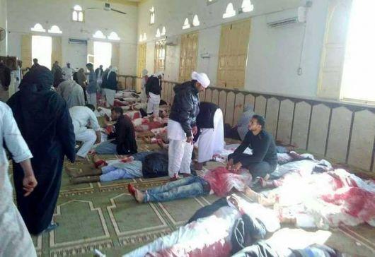 <p>235 muertos en Egipto: Brutal ataque contra la rama m&iacute;stica del islam</p>