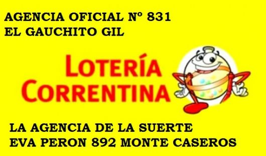 <p>Un apostador gan&oacute; 1.200.000 pesos en la quiniela en la Agencia El Gauchito Gil de Monte Caseros</p>