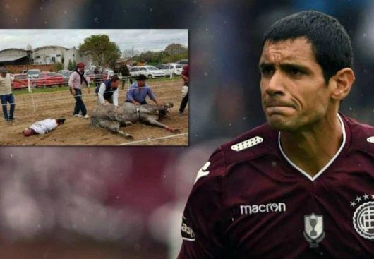 <p>El delantero de Lanús, Pepe Sand, va a juicio por la muerte de su yegua Doña Fantasía en Goya</p>