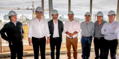 <p>Construyen el nuevo IOSCOR, IPS y Banco de Corrientes&nbsp;</p>