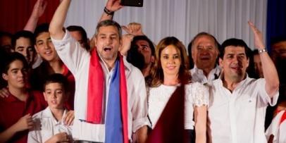 <p>El nuevo presidente paraguayo&nbsp;</p>