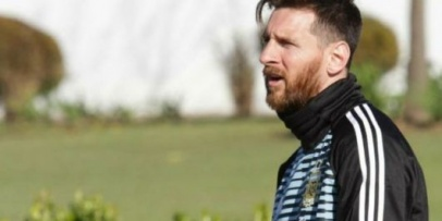 <p>Messi lleg&oacute; al pa&iacute;s y se suma a la Selecci&oacute;n</p>