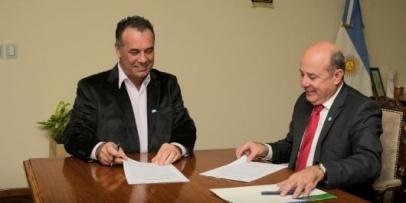 <p>Cooperaci&oacute;n interprovincial entre los vicegobernadores de Chaco y Corrientes</p>