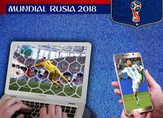 <p>El Mundial bate récords de streaming: son más de 200.000 personas las que siguen a Messi por un celular</p>