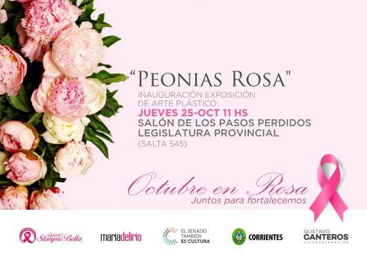 <p>El Senado de Corrientes organiza la muestra &ldquo;Peon&iacute;as Rosas&rdquo;.</p>