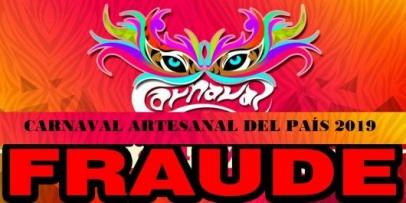 <p>Denuncia de fraude, irregularidades y solicitan se suspenda el escrutinio del Carnaval Artesanal</p>