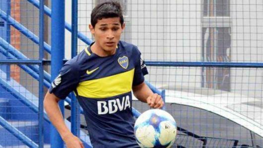 <p>Agustín Obando, otro montecasereños que debuta en la primera de Boca Juniors</p>