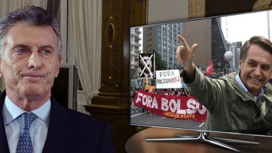 <p>La reunión cumbre con Bolsonaro, una foto incómoda</p>