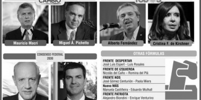 <p>Nueve fórmulas presidenciales competirán en las Primarias Abiertas</p>