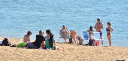 <p>Pronóstico de tormenta impediría habilitar las playas correntinas</p>
