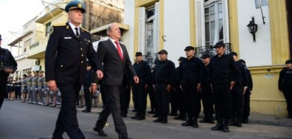 <p>Canteros destacó el trabajo conjunto del gobierno con la Policía Federal</p>