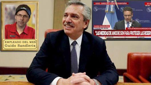<p>Cepo, baja de tasas y desarme de Leliq: cómo Sandleris terminó adoptando la agenda de Alberto</p>