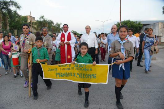 <p>Gran celebración de las fiestas patronalesde Santa Catalina de Alejandría</p>
