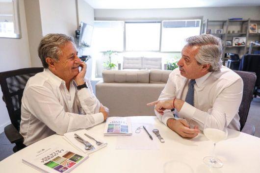 """<p>Alberto Fernández se reunió con Eduardo Duhalde: """"Vamos a levantarnos una vez más""""</p>"""