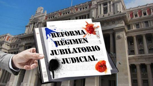 <p>Tribunales, en pie de guerra por el régimen jubilatorio especial</p>