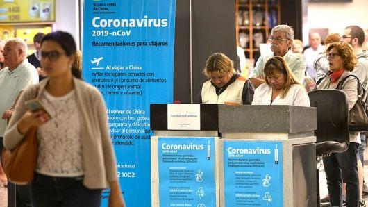 <p>Coronavirus en Argentina</p>