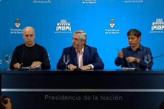 <p>Coronavirus: Alberto Fernández confirmó que se suspenden las clases y se cierran las fronteras hasta el 31 de marzo</p>