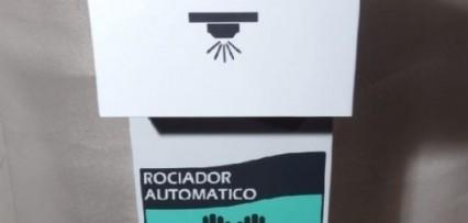 """""""Atomizador Desinfectante Automático"""" para higiene de manos ante el covid – 19"""