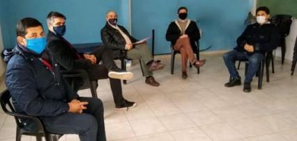 <p>El normalizador del PJ Julio Sotelo instó a los concejales justicialistas casereños a seguir trabajando por la unidad</p>