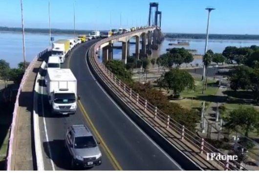 Implementarán en el puente General Belgrano tarjetas GPS para controlar el recorrido de los camiones