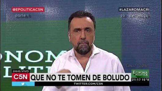 """<p>Navarro, furioso contra Alberto F.: """"Contrató al marido de Mariana Fabbiani, pagó a Clarín $500 millones y ahora viene la"""