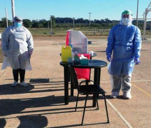 <p>Con 160 nuevos hisopados, continúa el rastreo epidemiológico en Libres</p>