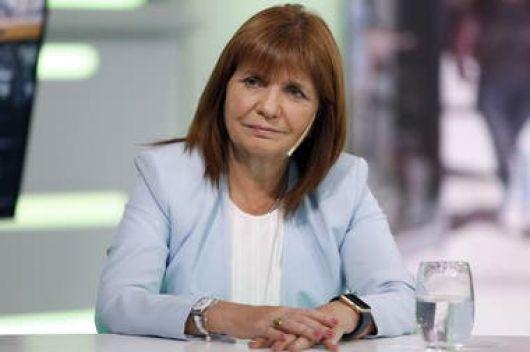 Patricia Bullrich criticó el avance del kirchnerismo sobre la libertad en internet