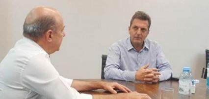 <p>Canteros y Massa analizaron la agenda institucional 2021</p>